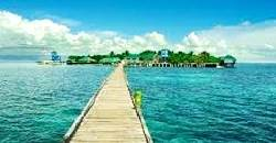 One can swim and take lunch at Nalusuan Island when doing the Island Hopping Tour in Mactan.