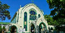 You can light candles, and leave eggs at the Carmelite Monastery in Cebu