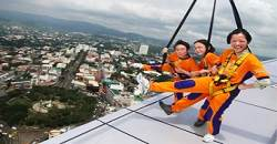 Sky Walk is one of the activities during the Sky Adventure Tour Package at Crown Regency Hotel in Fuente.