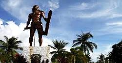 The Mactan Shrine honors Cebu's first ever hero, Lapu Lapu, who is believed to have slain the great Ferdinand Magellan the explorer.