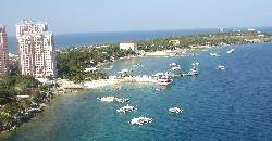 Mactan Island Hopping Tour jump-off point is either at Punta Engano or Maribago in Mactan.