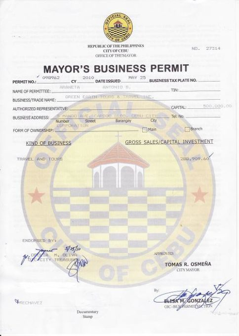 how to get business permit