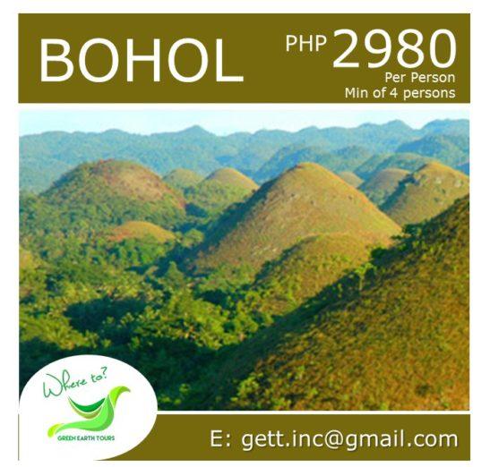 3D2N Bohol Tour Package