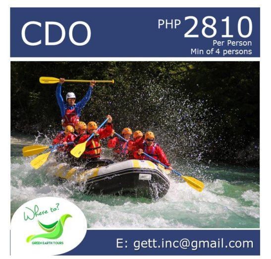 3D2N CDO Tour Package