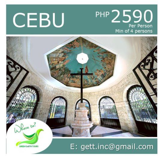 3D2N Cebu Tour Package