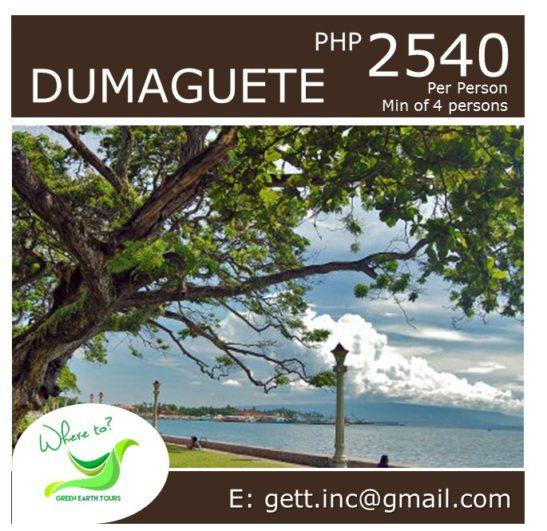 3D2N Dumaguete Tour Package