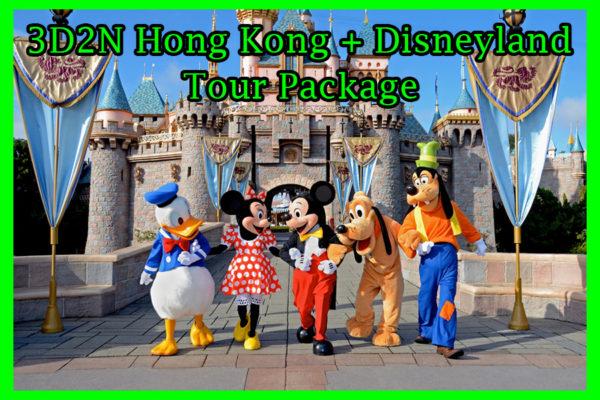 3D2N Hong Kong & Disneyland Tour Package