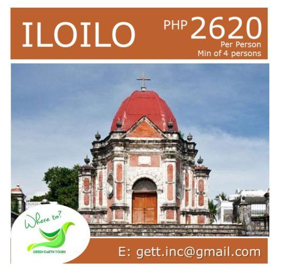 3D2N Iloilo Tour Package