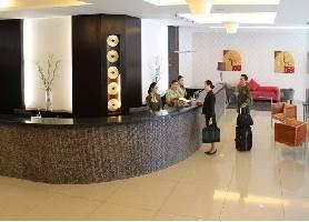 Hotel Lobby of Diamond Suites