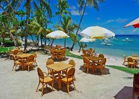 Dining Al Fresco, Isis Bungalows Resort, Panglao Bohol