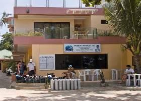 Dive Shop in Resort, Lost Horizon Alona Panglao Bohol