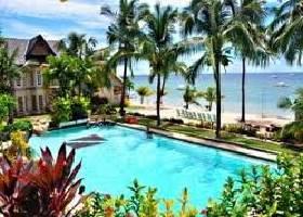 First Swimming Pool, Bohol Divers Resort, Panglao