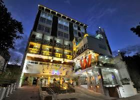 Hotel Facade, Wellcome Hotel, Cebu