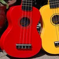 Cebu is famous for guitars and ukeleles.