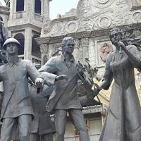 The Pariam Monument in Cebu depicts the history of the Philippines in general and Cebu in particular.