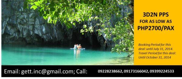 Puerto Prinsesa Travel Promotions