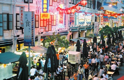Some of the best bargains may be found in Singapore's Chinatown accessible via bus, cab or MRT.