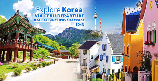 Cebu to Seoul, South Korea Group Departures