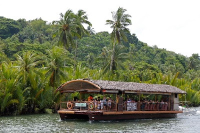 The Loboc River Cruise comes with lunch if you take the Bohol Countryside Tour Package with our travel agency.