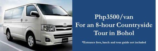Bohol rent-a-van