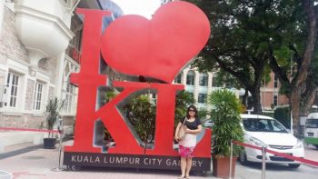 Somewhere in Merdeka Square, KL