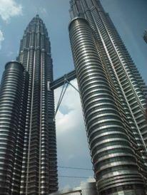 The iconic Petronas Towers
