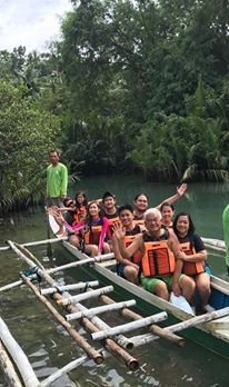 Intimate Cruise in Boho River. Ecotourism at its best.